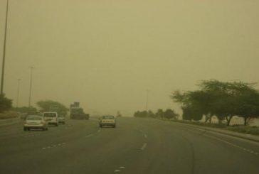 طقس حار على معظم مناطق المملكة وغـبار وأتربة