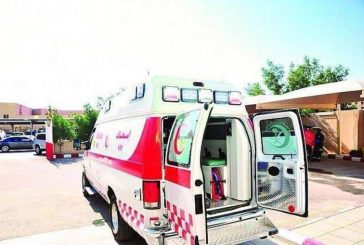 إصابة 14 شخصًا إثر انقلاب ميكروباص بجدة
