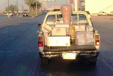 """أمانة الجوف تضبط صاحب """"شاورما السيارة المكشوفة"""" في الجوف"""