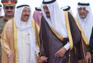 خادم الحرمين يستقبل قادة ورؤساء وفود دول مجلس التعاون بجدة
