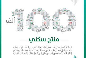 «الإسكان» تجـهز 100 ألف منتج سكني للتخصيص والتسليم بـشعبان