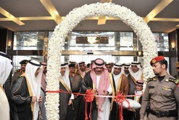 """الأمير مشاري بن سعود يفتتح منتزه """"الشكران"""" بمحافظة بلجرشي"""