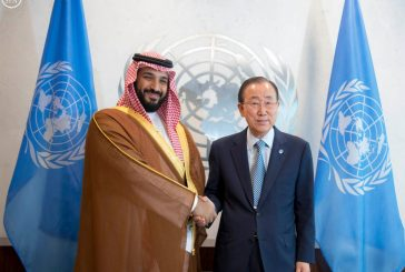 ولي ولي العهد يلتقي الأمين العام للأمم المتحدة