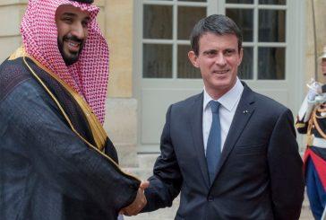 ولي ولي العهد يجتمع برئيس الوزراء الفرنسي