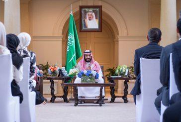 الأمير محمد بن سلمان يلتقي بنماذج من الطلبة السعوديين المتميزين في الجامعات الأمريكية
