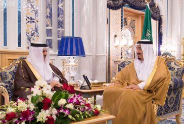 خادم الحرمين الشريفين يستقبل الأمين العام لمجلس التعاون