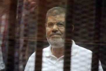 السجن المؤبد لمحمد مرسي في قضية «التخابر»