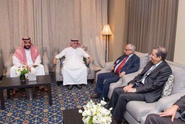 ولي ولي العهد يلتقي مجموعة من رجال الأعمال السعوديين في نيويورك
