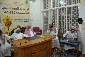 لجنة التنمية الاجتماعية الأهلية ببيدة تقيم إفطار جماعي