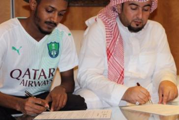 الأهلي يتعاقد مع لاعب الوحدة علي عواجي 5 سنوات