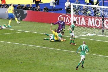 تعادل السويد مع ايرلندا بهدف لكل منهما في يورو 2016