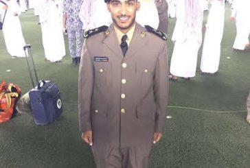 """""""المطيري"""" يحتفل بتخرجه من كلية الملك فهد الأمنية"""