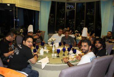 حفل سحور نادي ملاك هارلي ديفيدسون بمطعم اليخت بالجبيل