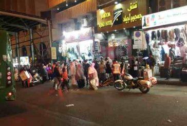 إصابة ثلاثة أشخاص إثر حادث دهس في مكة المكرمة