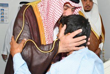 أمير نجران للمصابين من رجال القوات العسكرية: إصابتكم وسام عز وشرف