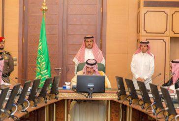 أمير الباحة يرأس اجتماع المجلس التنسيقي للجمعيات الخيرية بالمنطقة