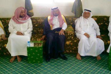 وكيل إمارة الباحة يُعزي أسرة آل ريحان في وفاة والدهم