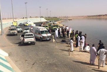 غرق ثلاثة أحداث ببحيرة محافظة دومة الجندل صباح اليوم