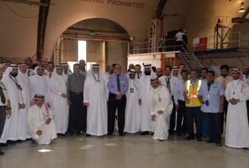 السعودية لهندسة وصناعة الطيران تُقيم حفل المعايدة السنوي