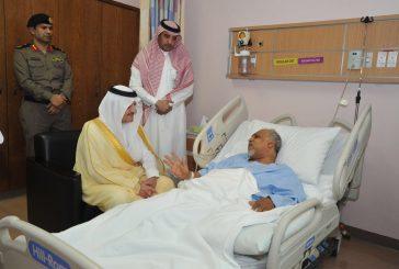 خلال زيارته لعمدة تاروت الأمير سعود بن نايف : القيادة والوطن يقفون صفاً واحداً في مكافحة هؤلاء المجرمين