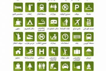 علامات السفر والسياحة