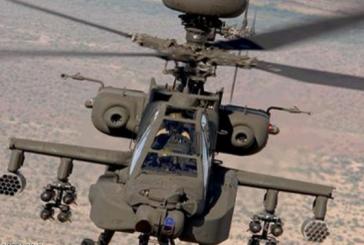 سقوط طائرة أباتشي واستشهاد طيارين سعوديين