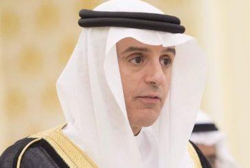 """""""الجبير"""": الحلول السلمية في اليمن والعراق وسوريا ممكنة وفق هذه الشروط"""