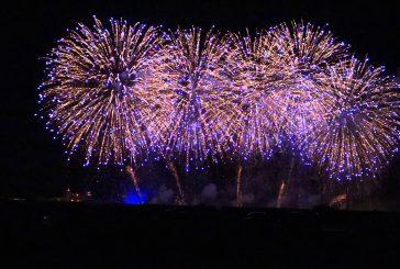 سماء الرياض تكتسي بالألعاب النارية باحتفالات العيد من ثلاث مواقع