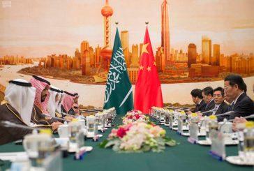ولي ولي العهد ونائب رئيس وزراء الصين يرأسان الجنة السعودية الصينية المشتركة