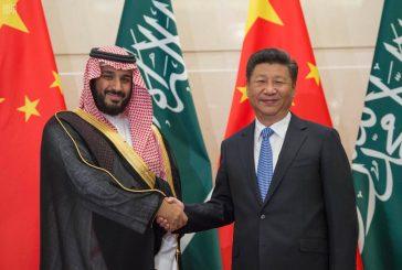 الرئيس الصيني يستقبل  ولي ولي العهد