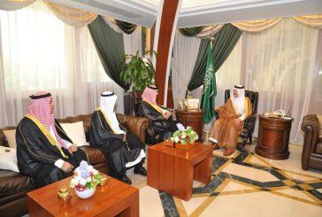 أمير المنطقة الشرقية يستقبل رئيس ديوان المراقبة العامة