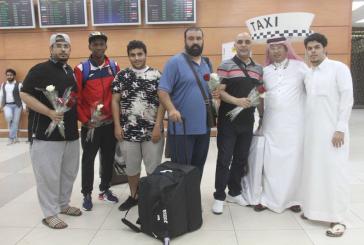 الوحدة يصل إلى مكة المكرمة بعد انتهاء معسكره بالنمسا