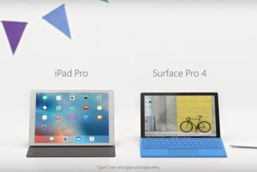 مايكروسوفت تهزأ من iPad Pro بقوّة في إعلان جديد (فيديو )