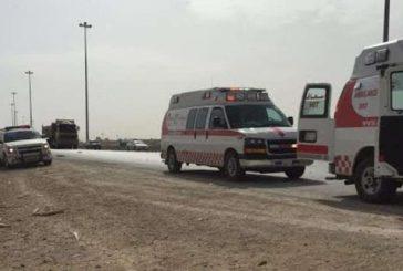 وفاة 5 أشخاص من عائلة واحدة في حادث مروع على طريق الرياض ـ ظلم