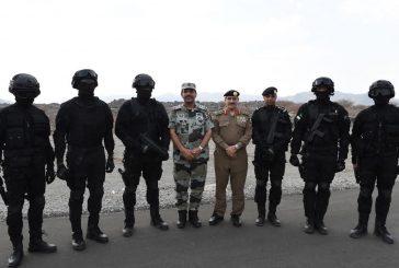 مدير الأمن العام يختتم جولته في المدينة المنورة بزيارة مراكز الضبط الأمني وقيادة أمن الطرق