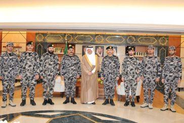 الأمير سعود ين نايف يُدشن الزي العسكري الجديد لقوة أمن المنشآت بالمنطقة الشرقية