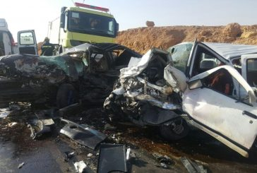 ثلاث وفيات وإصابتين بحادث مروري بالقصيم