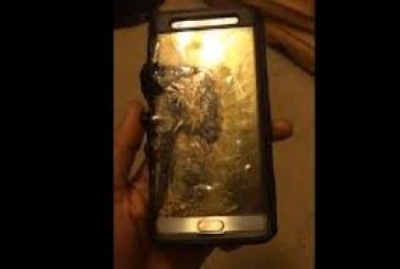 إحتراق و إنفجار بطارية جالاكسي نوت 7 سامسونج تؤكد سحب 2 مليون هاتف