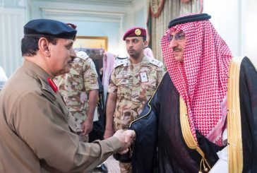 ولي العهد يلتقي مديري وقادة القطاعات العسكرية والأمنية المشاركة في الحج