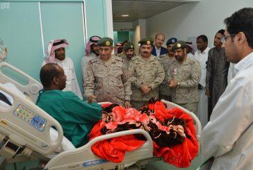 رئيس هيئة الأركان يزور مصابي القوات المسلحة بالرياض