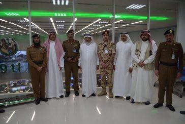 وزير الشئون البلدية والقروية لمركز عمليات ٩١١ بمكة المكرمة