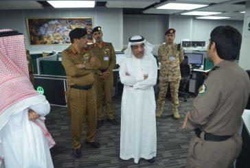 """""""الجلعود"""" و""""العقيل"""" في زيارة لمركز عمليات ٩١١ بمنطقة مكة المكرمة"""