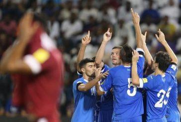 قطر تخسر ثاني مبارياتها في تصفيات كأس العالم
