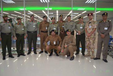 زيارة مدير الجوزات لمركز عمليات ٩١١ بمنطقة مكة المكرمة