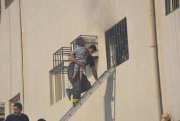 وفاة ثلاثة أطفال إثر حريق شقة سكنية في تبوك