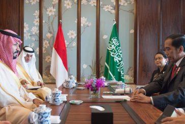 ولي ولي العهد يجتمع بالرئيس الاندونيسي على هامش انعقاد قمة مجموعة العشرين