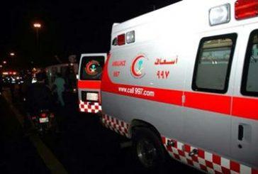وفاة شابين وإصابة إثنين آخرين بمنطقة صحراوية بمنطقة الجوف