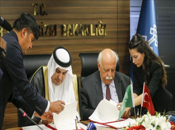 توقيع بروتوكول للتعاون الثقافي بين المملكة وتركيا