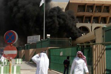 حريق في جوازات الرياض ناتج عن احتراق إحدى وحدات التكييف
