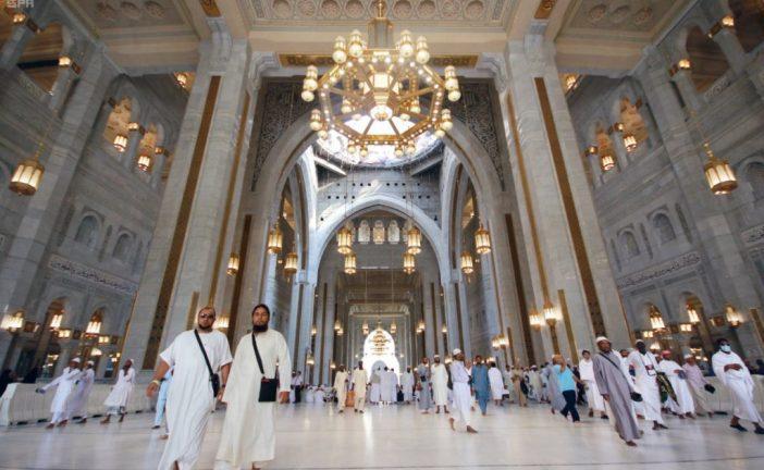 توسعة المسجد الحرام تستوعب أكثر من مليوني مصلي